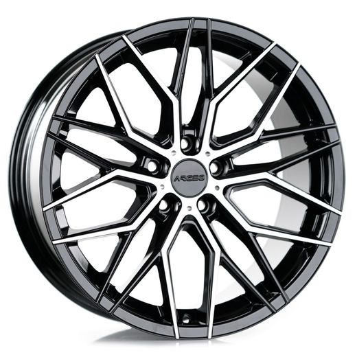 Arceo Valencia 8.5x18 5x112 ET35 73.1 Black Diamond